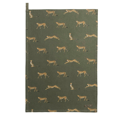 Sophie Allport Cheetah Tea Towel
