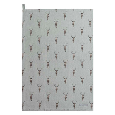 Sophie Allport Highland Stag Tea Towel