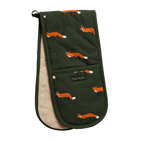 Sophie Allport Foxes Oven Gloves