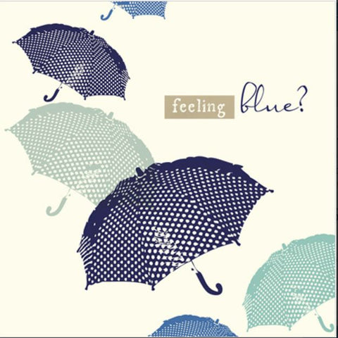 Feeling Blue Greeting Card from Flamingo