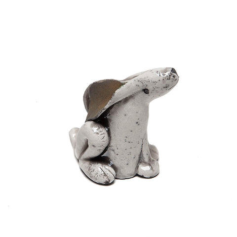Whelpton Ceramics Hand Made Hare (Ears Down)
