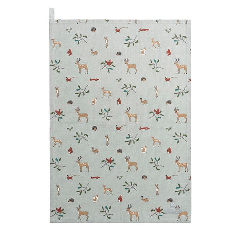 Sophie Allport Woodland National Trust Tea Towel