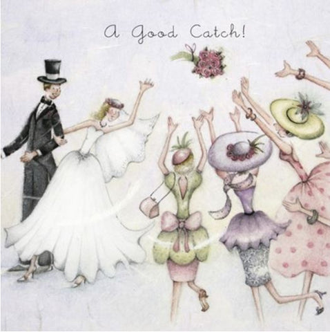 A Good Catch Greeting Card from Berni Parker