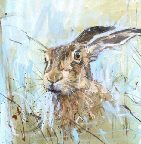Summer Hare Greeting Card