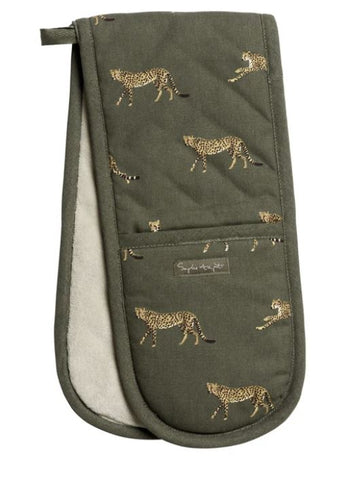 Sophie Allport Cheetah Oven Gloves