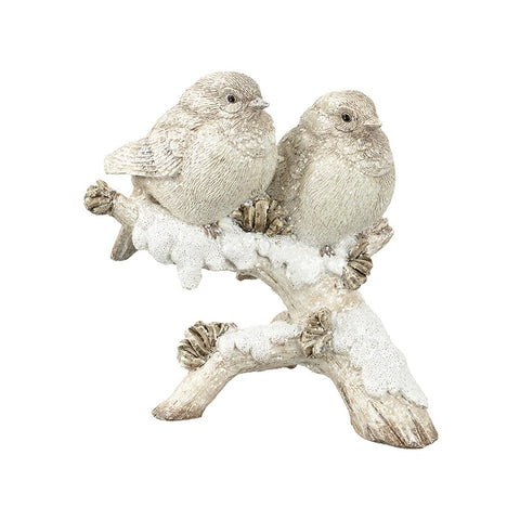Heaven Sends White Birds Ornament