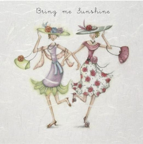 Bring Me Sunshine Greeting Card from Berni Parker