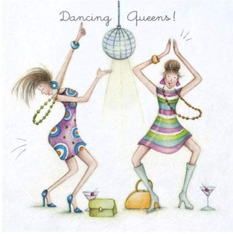 Dancing Queens Greeting Card from Berni Parker