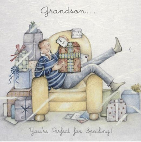 Grandson greeting card from Berni parker