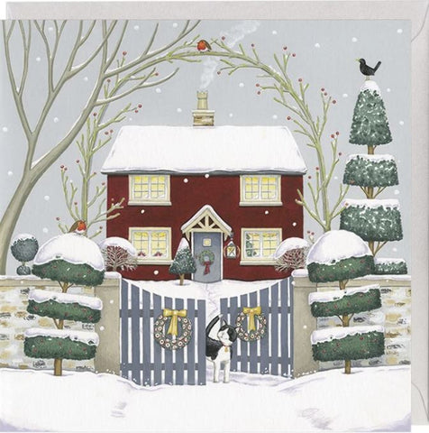 The Red House Christmas Card