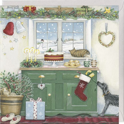 Festive Kitchen Christmas Card