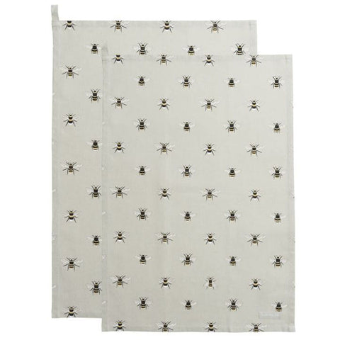 Sophie Allport Bees Tea Towels (Set of 2)