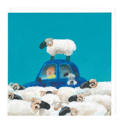 Ram Jam Greeting Card
