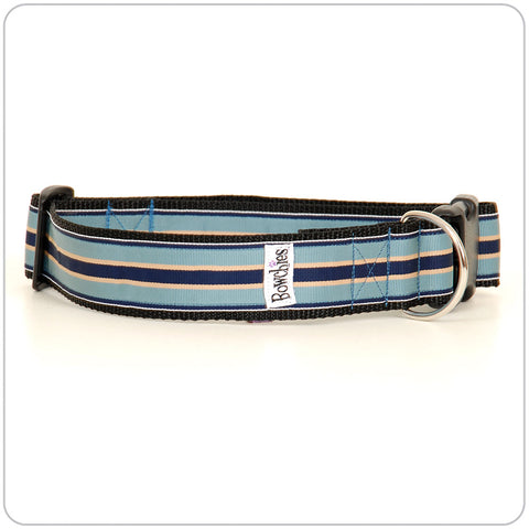 Prep Stripe - Blue on Blue