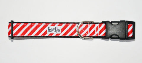 Candy Cane Stripes- Red