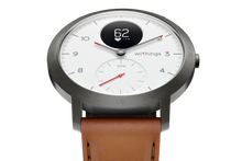 Laden Sie das Bild in den Galerie-Viewer, Withings Leder-Sportarmband 20 mm