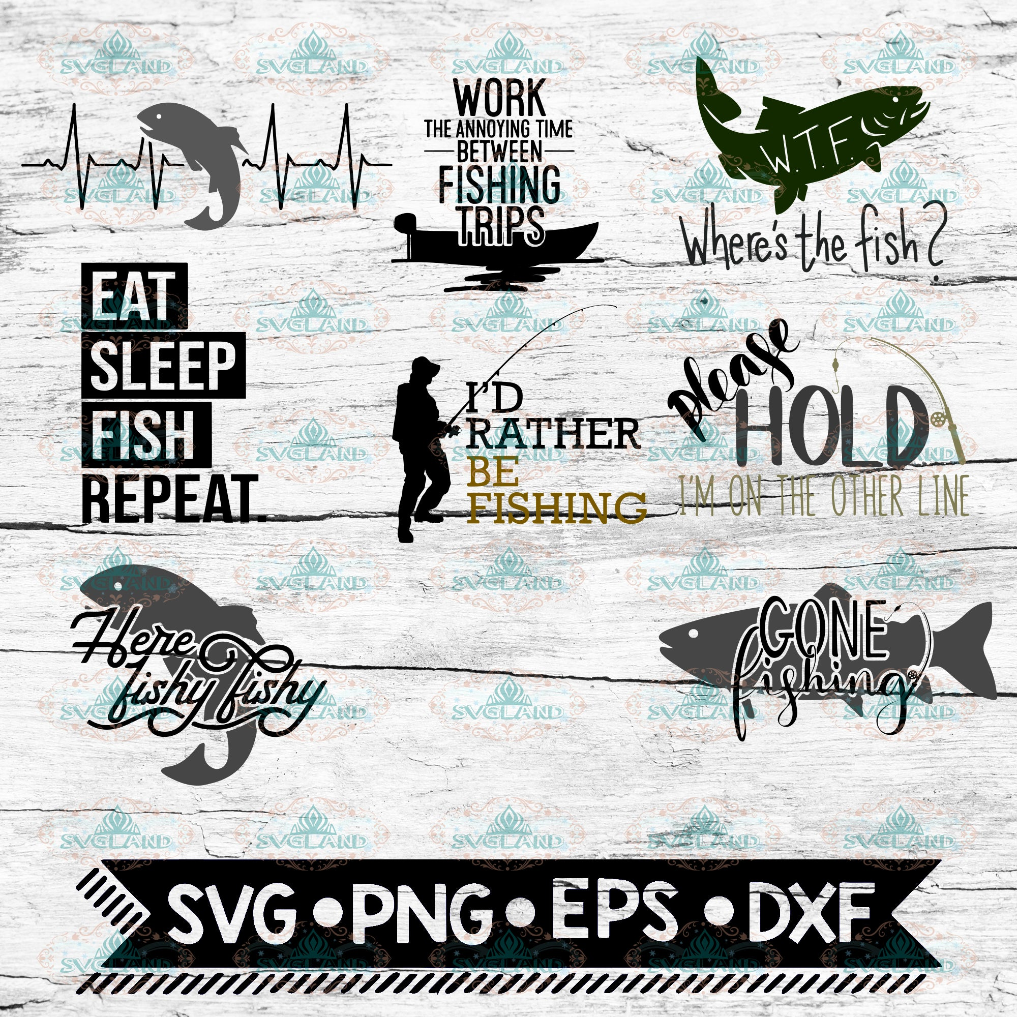 Download Fishing Svg Bundle Father S Day Fishing Cut File Angling Fisherman S Svgspecial