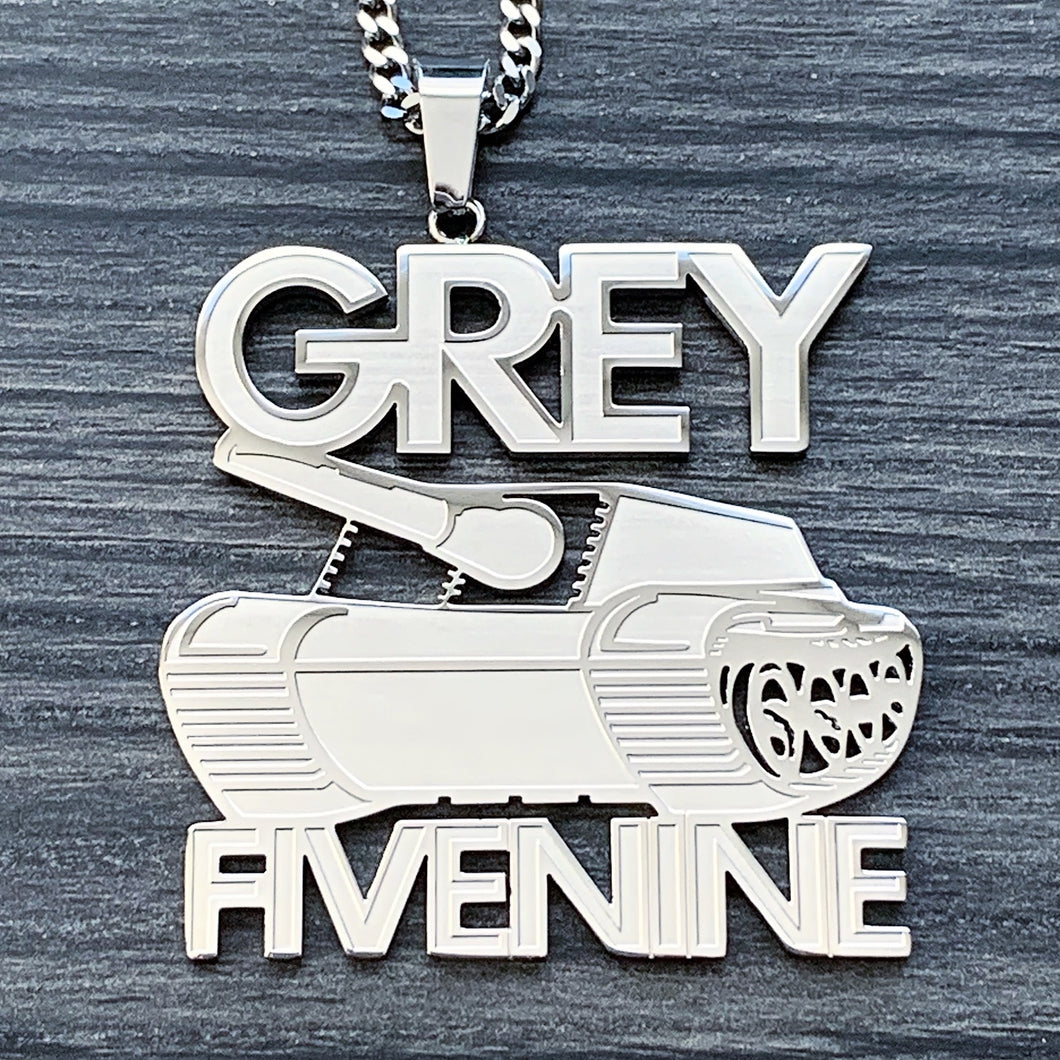 'G59 Tank' Necklace