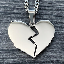 Load image into Gallery viewer, 'Broken Heart' Necklace