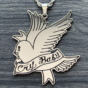 'CryBaby Dove' Necklace