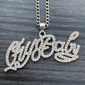 Iced Out 'CryBaby' Necklace