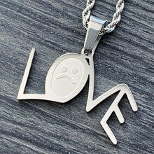 Load image into Gallery viewer, 'L☹VE' Necklace