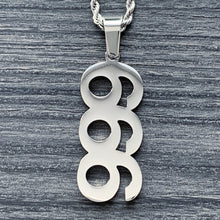 Load image into Gallery viewer, '999/666' Necklace
