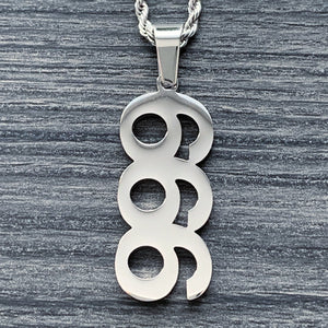 '999/666' Necklace
