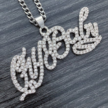 Load image into Gallery viewer, Iced Out 'CryBaby' Necklace