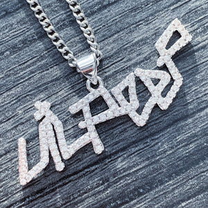 Iced Out 'Lil Peep' Necklace