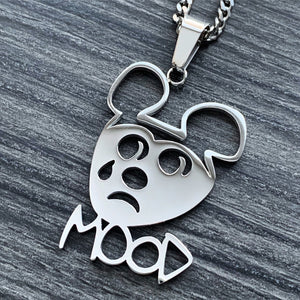 'MOOD Mouse' Necklace
