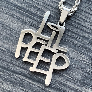 Polished 'LIL PEEP' Necklace