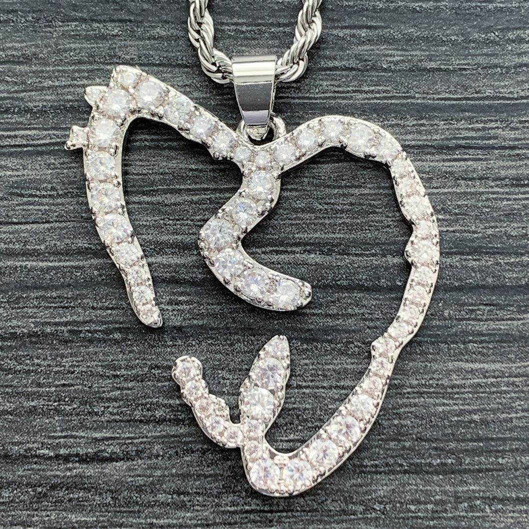 Iced Out 'Heartbreak' Necklace