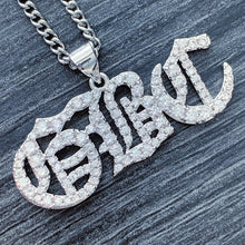 Load image into Gallery viewer, Iced Out 'GBC' Necklace
