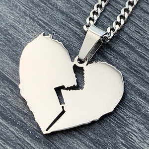 'Broken Heart' Necklace