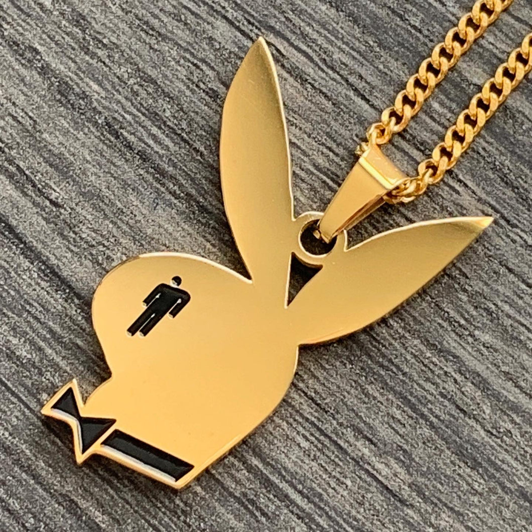Gold 'Bunny' Necklace