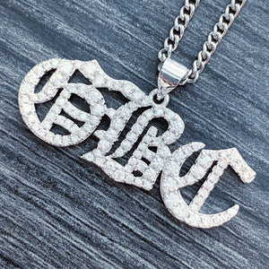 Iced Out 'GBC' Necklace