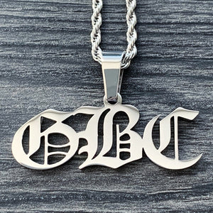 'GBC' Necklace
