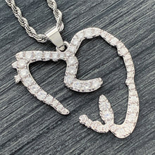 Load image into Gallery viewer, Iced Out 'Heartbreak' Necklace