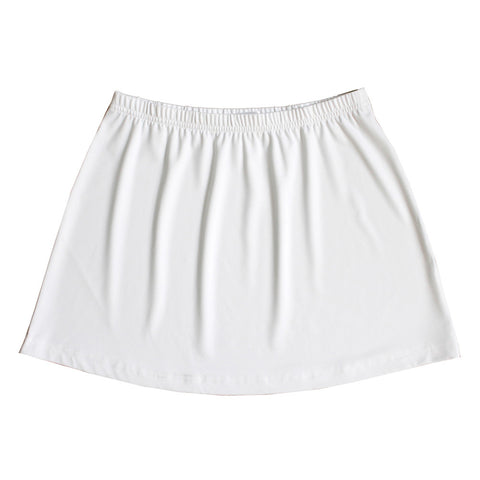 White Skirt (no shorts)