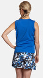Royal Blue Princess Top