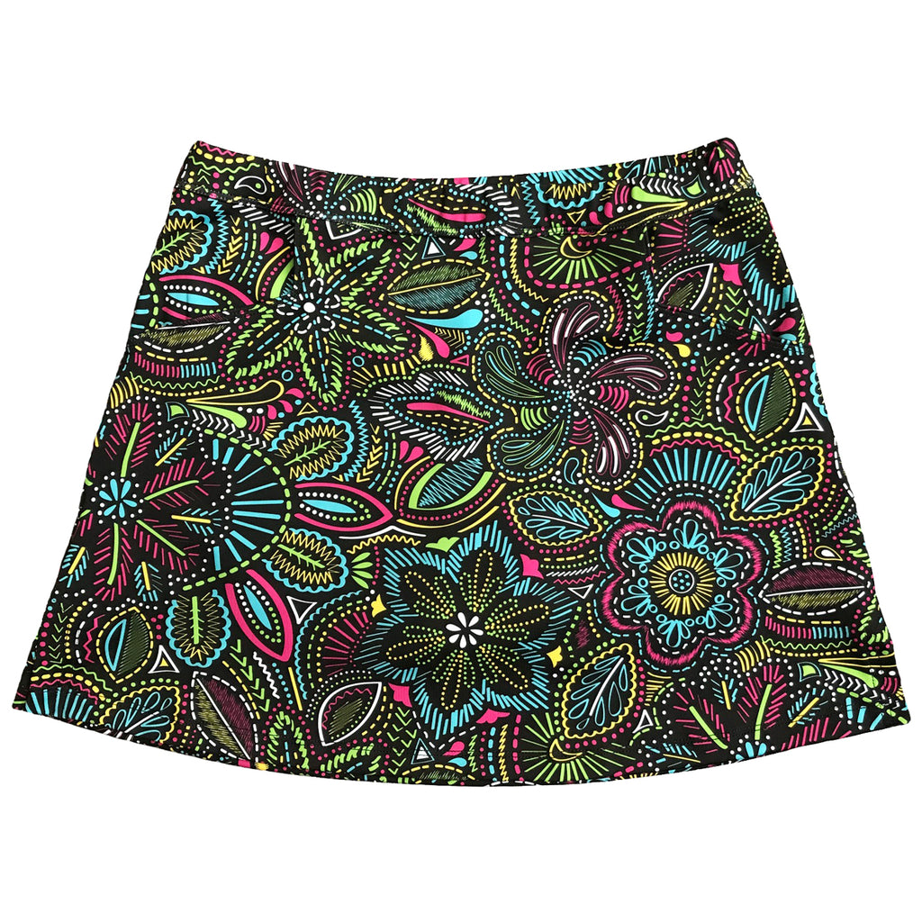 "Fun Flower ""Longer Skort"""