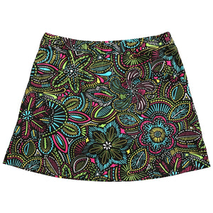 "Fun Flower ""Longer"" Skort"