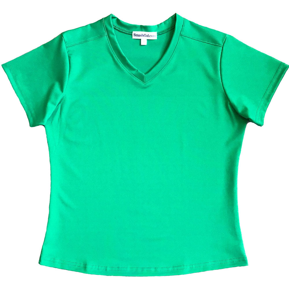 Green Short-Sleeve Top