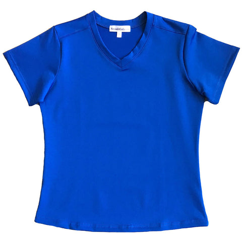 Royal Short-Sleeve Top