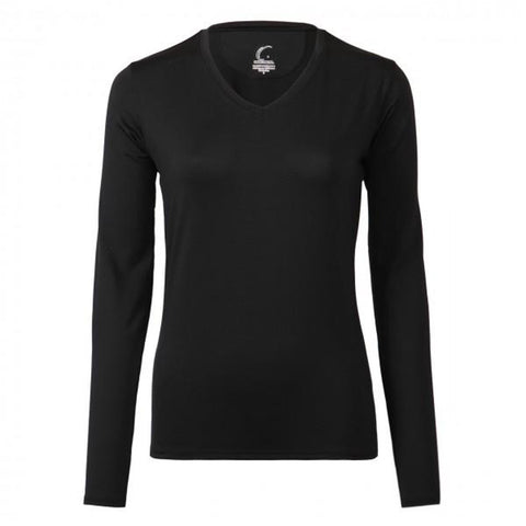 Black Long Sleeve Top