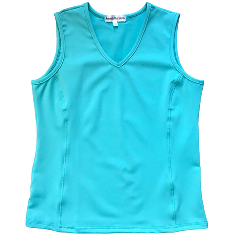 Turquoise Princess Top