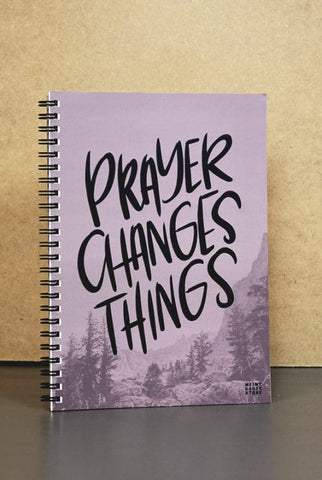 Notizbuch: PRAYER CHANGES THINGS