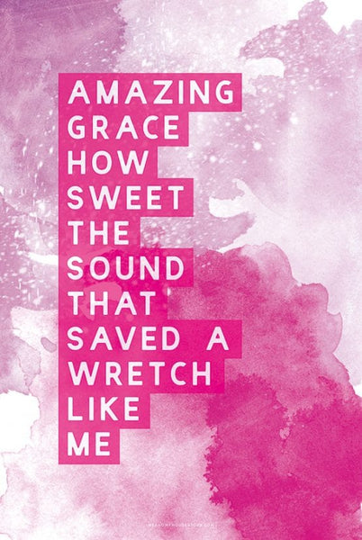 A3 Poster: AMAZING GRACE