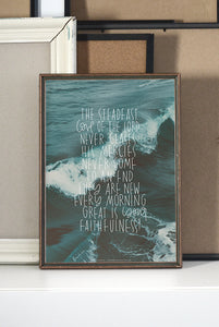 A3 POSTER: THE STEADFAST LOVE
